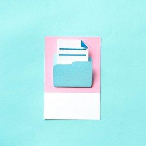 الملفات وشنط الأوراق